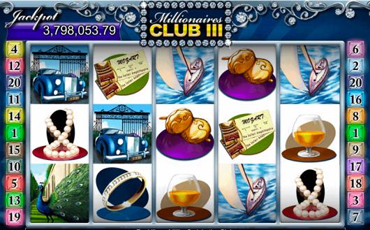 Millionaires Club III Online Slot Reviewed