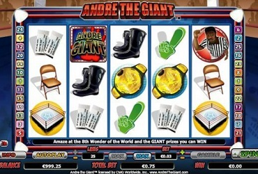 Overview of Andre The Giant Online Casino Slot
